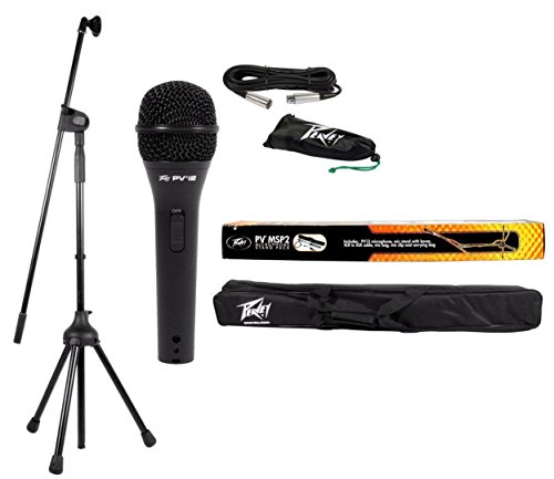 Peavey MSP2 XLR Microphone Stand Package