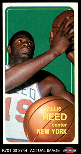1970 Topps # 150 Willis Reed New York Knicks (Basketball Card) Dean's Cards 5 - EX Knicks