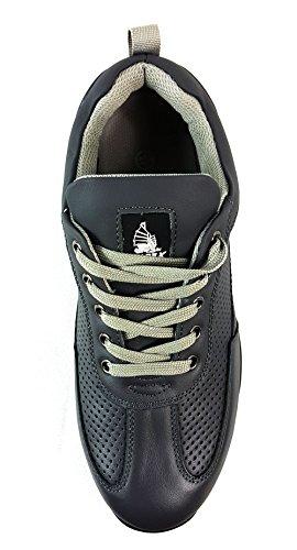 Herren Sicherheit Stahlkappe Arbeit Knöchel Turnschuhe Grau schwarz Stiefel 41 Hiker UK7 EUR ArHAwdx4q