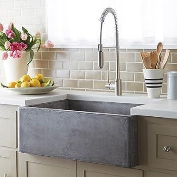Rectangular Bar Sink In Ash