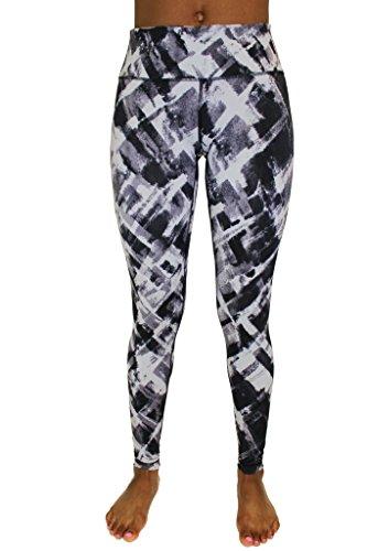 90 Degree By Reflex Performance Activewear – Printed Yoga Leggings – DiZiSports Store