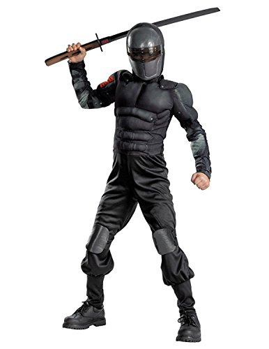 Snake Eyes Classic Muscle Costume - Large