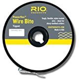 #5: RIO Powerflex Wire Bite Tippet Spools Nylon Coated Sharp Toothed Fly Fishing