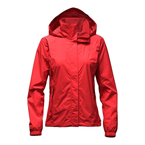 The North Face Resolve Jacket Women's High Risk Red X-Large (North Face Resolve Jacket Womens)