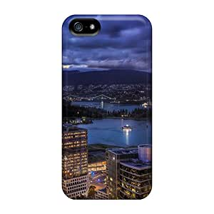 Pchcase Design High Quality Amazing City Harbor At Sunset Cover Case With Excellent Style For Iphone 5/5s