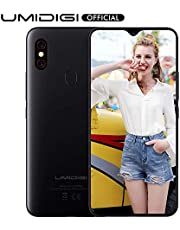 UMIDIGI F1 Mobile Phone Unlocked Dual 4G Smart Phone Sim Free Android 9 Pie 5150mAh Battery 128GB ROM+4GB RAM 6.3inch FHD+ Smartphone with NFC