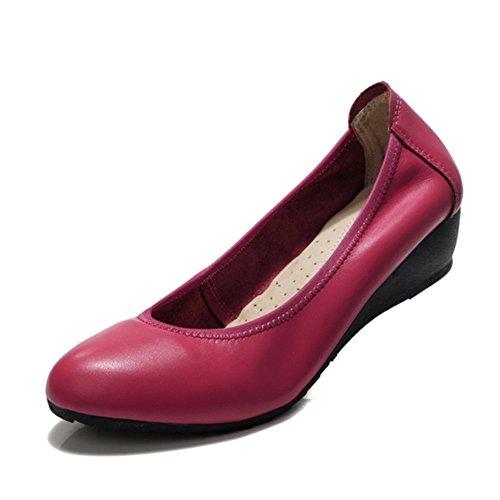 La parte inferior suaveZapatos de trabajo profesional/Negro cuñas zapatos/Zapatos de trabajo profesional B