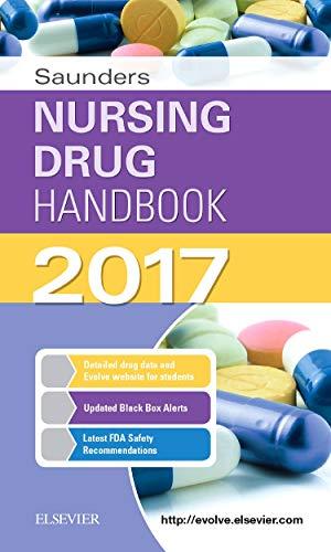 Saunders Nursing Drug Handbook 2017