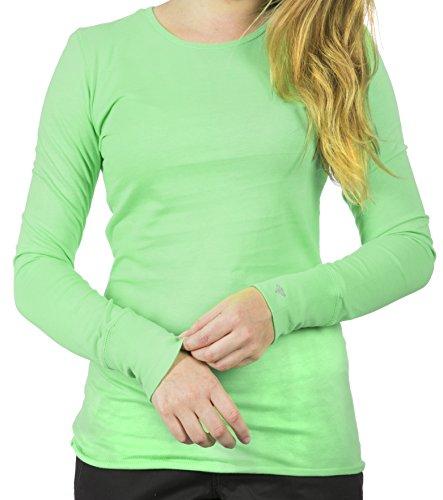Nursing T-shirt Uniform (Med Couture Uniforms Women's Long Sleeve Underscrub (Key Lime, X-Large) …)