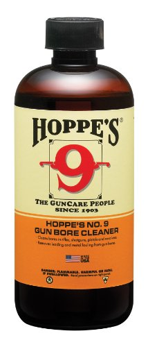 Hoppe's No. 9 Gun Bore Cleaning Solvent, 1-Quart Bottle (Best Gunpowder For 9mm)