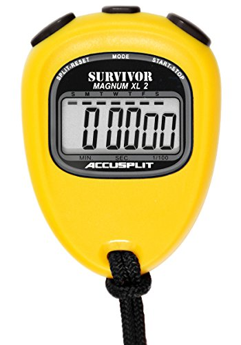 ACCUSPLIT New Survivor 2 - Yellow New Survivor SX 2 Series Stopwatch by ACCUSPLIT
