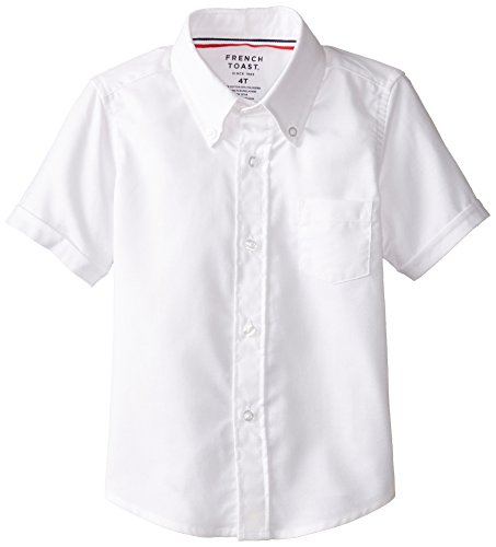 French Toast Short Sleeve Oxford