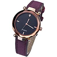Axiba Womens Simple Design Leather Watch Analog Quartz Wrist Watches