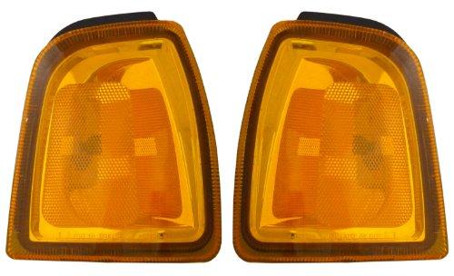 Ford Ranger 01-05 Side Marker Corner Lights Lamps Pair Set Left & Right Ranger Park Light Side Marker