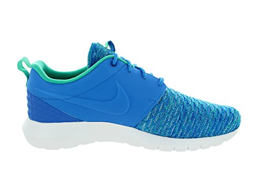 Nike Men's Roshe Nm Flyknit PRM Running Shoes, Blue, 9.5 UK Blue