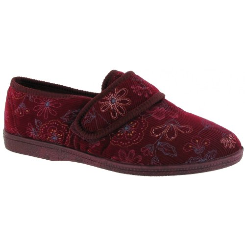 Mirak Betty Touch Chiusura Bootee / Pantofola Donna / Pantofole Donna Blu