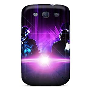 KerryParsons Samsung Galaxy S3 Protective Hard Cell-phone Cases Customized Colorful Daft Punk Series [YfS12972cPDF]