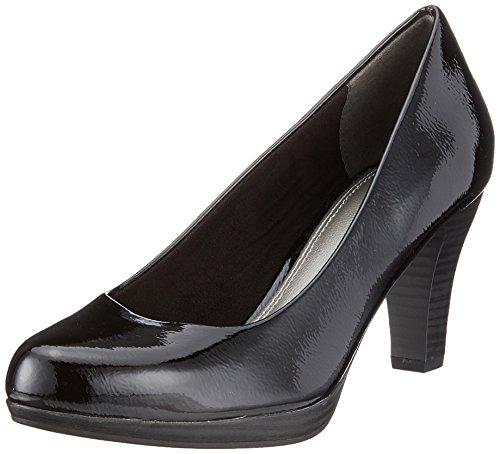 Marco Tozzi 22409, Escarpins femme Noir (Black Patent)