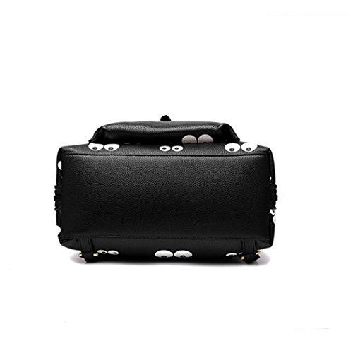 generisch - Bolso mochila  de Material Sintético para mujer Medium Stil-6