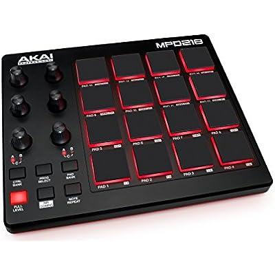 akai-professional-mpd218-midi-drum