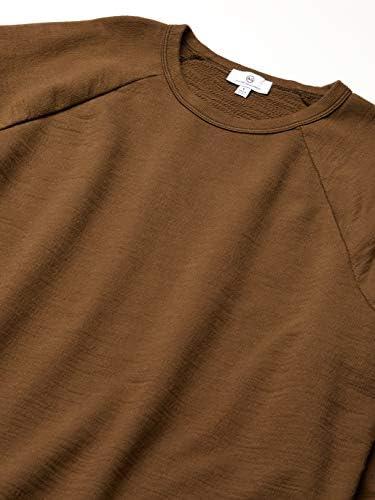 AG Adriano Goldschmied Men's The Elba Crewneck Long Sleeve Sweatshirt, Vintage Notting Vine, Medium