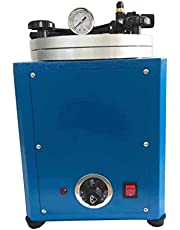 MXBAOHENG Wax Injection Machine Square Wax Casting Injector Machine 10L with Double Nozzle Jeweler Tool 110V 500W