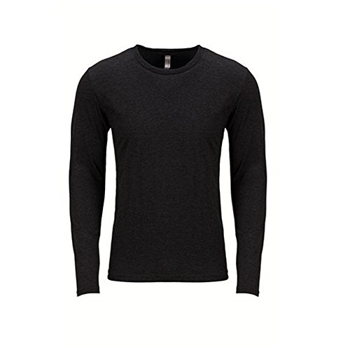 Next Level Men's Performance Blended Long Sleeve Jersey, X-Large, Vintage - Shirt Blended Jersey Sport Knit