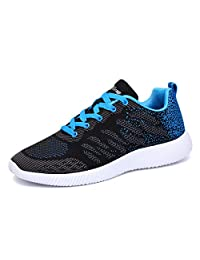 eyeones Mens Womens Lightweight Walking Sneakers Shoes for Athletic Casual Outdoor Sports