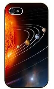 iPhone 5 / 5s Solar System - black plastic case / Space, Stars, Fantasy by icecream design