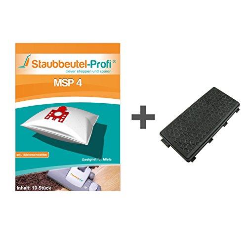10 Staubsaugerbeutel + 1 HEPA-Filter für Miele Complete C3 Silence EcoLine Plus von Staubbeutel-Profi®