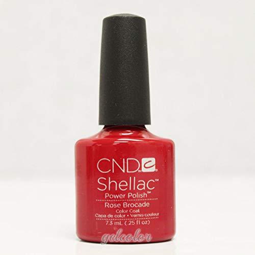 - Generic CND Shellac UV LED Gel Nail Polish Base Top Coat 7.3ml 0.25oz Pick Any * Part B 90622 Rose Brocade