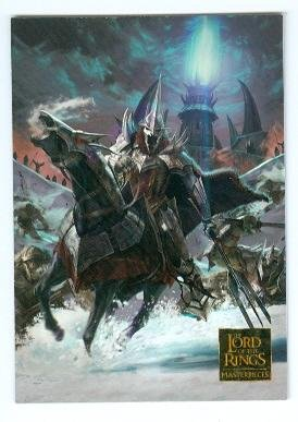 Lord of the Rings trading card 2008 Topps Masterpieces #64 Witch King Rises