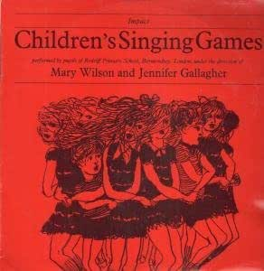 CHILDREN'S SINGING GAMES LP (VINYL) UK IMPACT 1969