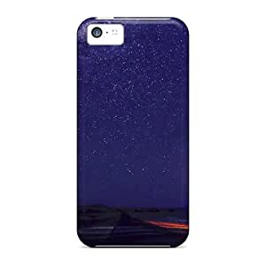 New Camp Starry Sky Tpu Skin Case Compatible With Iphone 5c