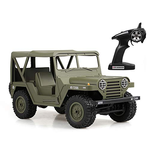 Goolsky BG1522 1/14 Millitary Jeep M151 Jeep RC Car for sale  Delivered anywhere in USA