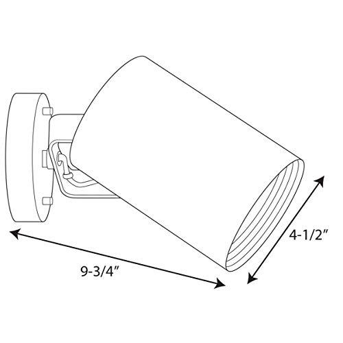 Buy progress lighting cylinder one-light wall bracket