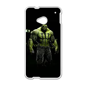 HTC One M7 Phone Case White Hulk PLU6220865