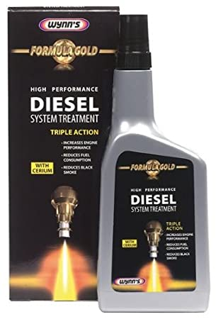 Wynns Formula Gold High Performance Diesel System Treatment Tratamiento para motores diésel, 500 ml: Amazon.es: Jardín