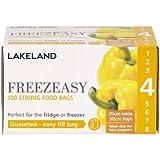Lakeland Sacs Congélation À Soufflets Freezeasy Taille 4 (20 x 30cm) x 100