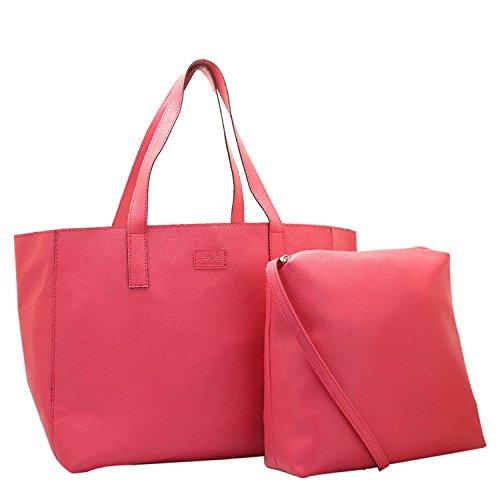 Lapis O Lupo Gleam Damen Tasche Rosa Multi Pocket Designer-satchel