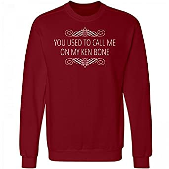 Amazon.com: FUNNYSHIRTS.ORG used To Call Me On My Ken Bone: Unisex ...
