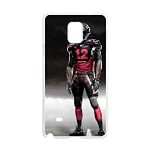 Atlanta Falcons Samsung Galaxy Note 4 Cell Phone Case White DIY gift zhm004_8721938