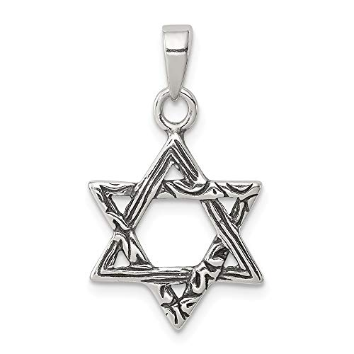 925 Sterling Silver Jewish Jewelry Star Of David Pendant Charm Necklace Religious Judaica Fine Jewelry Gifts For Women For Her