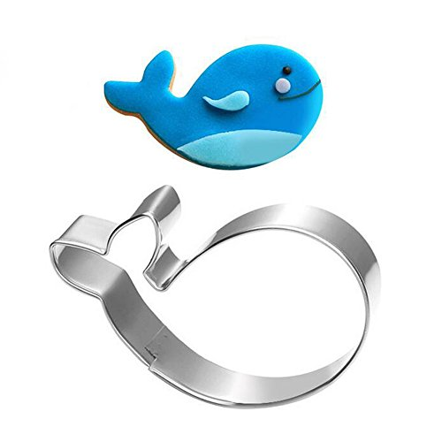 Whale Cookie Cutter - Food Grade Stainless Steel ()