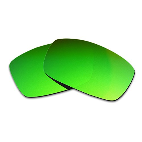 Hkuco Mens Replacement Lenses For Spy Optic Logan Sunglasses Emerald Green