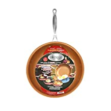 "Gotham Steel 9949 11"" Non-stick Titanium Frying Pan by Daniel Green, Brown"
