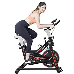 Well-Being-Matters 41s15PmQ9yL._SS300_ VIGBODY Stationary Bike Exercise Bike Belt Drive Indoor Cycling Bike for Home Cardio Workout Bike Heavy Duty Flywheel…