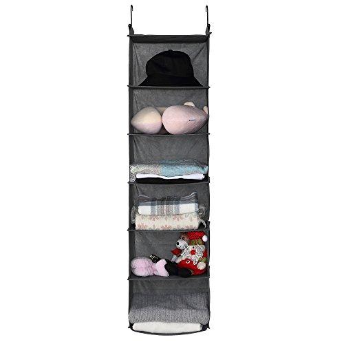 6-Shelf Hanging Closet Organizer,12