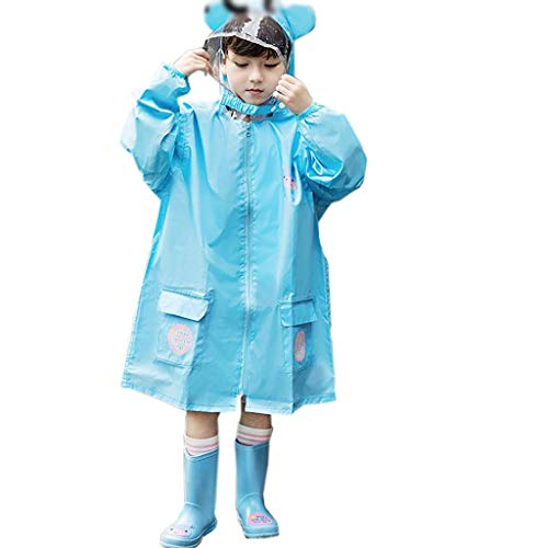 colore Hyuyi Bambini B Impermeabile Infantile S Set Per Dimensioni Poncho B Asilo x6xH0q