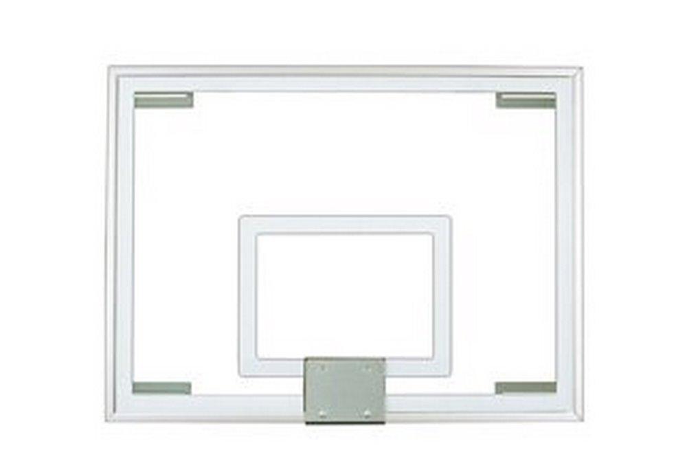 最初チームft231強化ガラス40 x 54で。ガラスbackboard44 ;グレー B01HC0D6B0